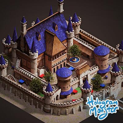 Hologram monster studio hologram monster studio castle thumb