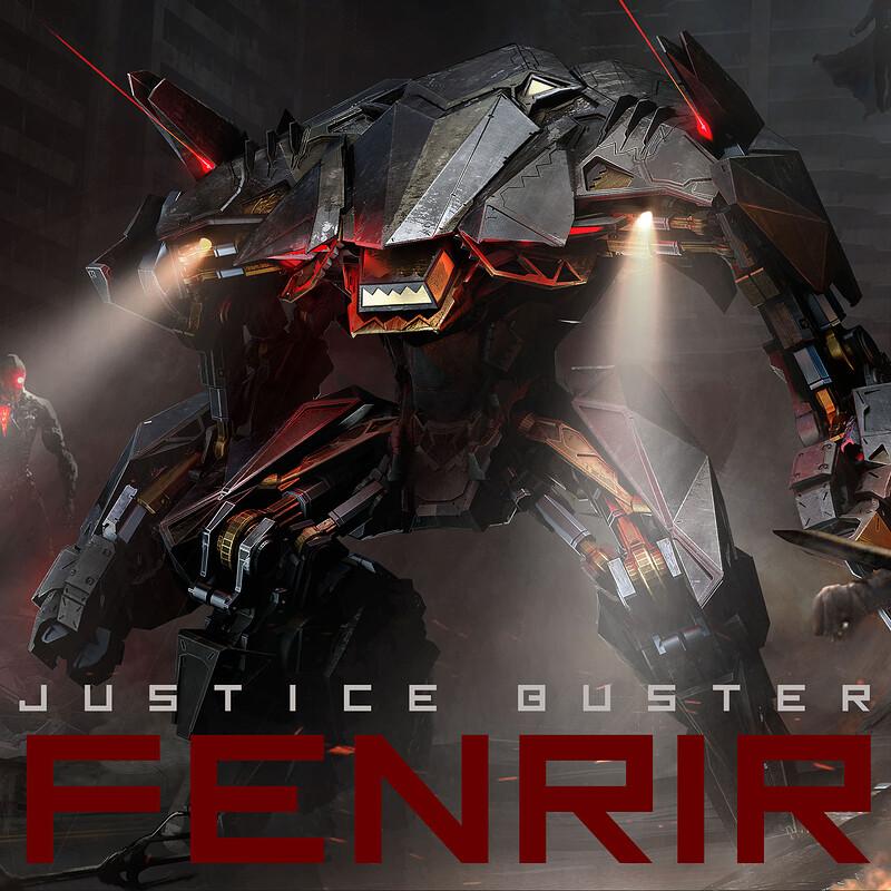 FENRIR: Justice League Buster Concept