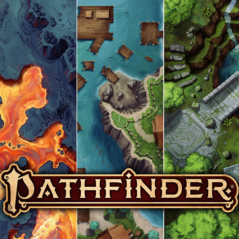 Pathfinder: Rise of the Ruby Phoenix Arena Maps