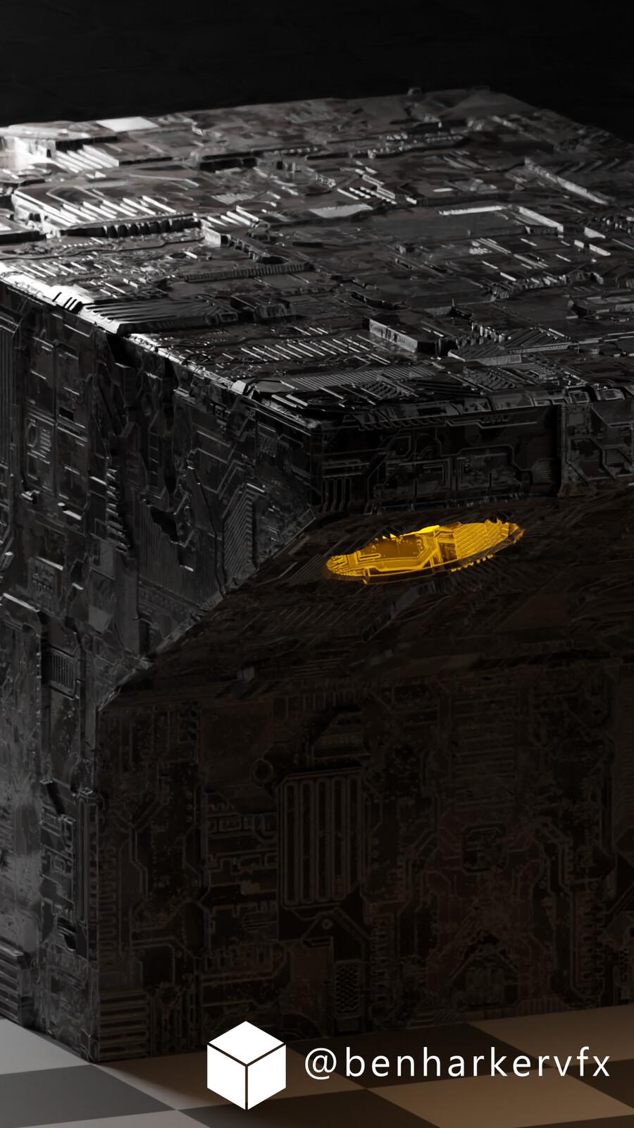 Sci Fi Ship Details