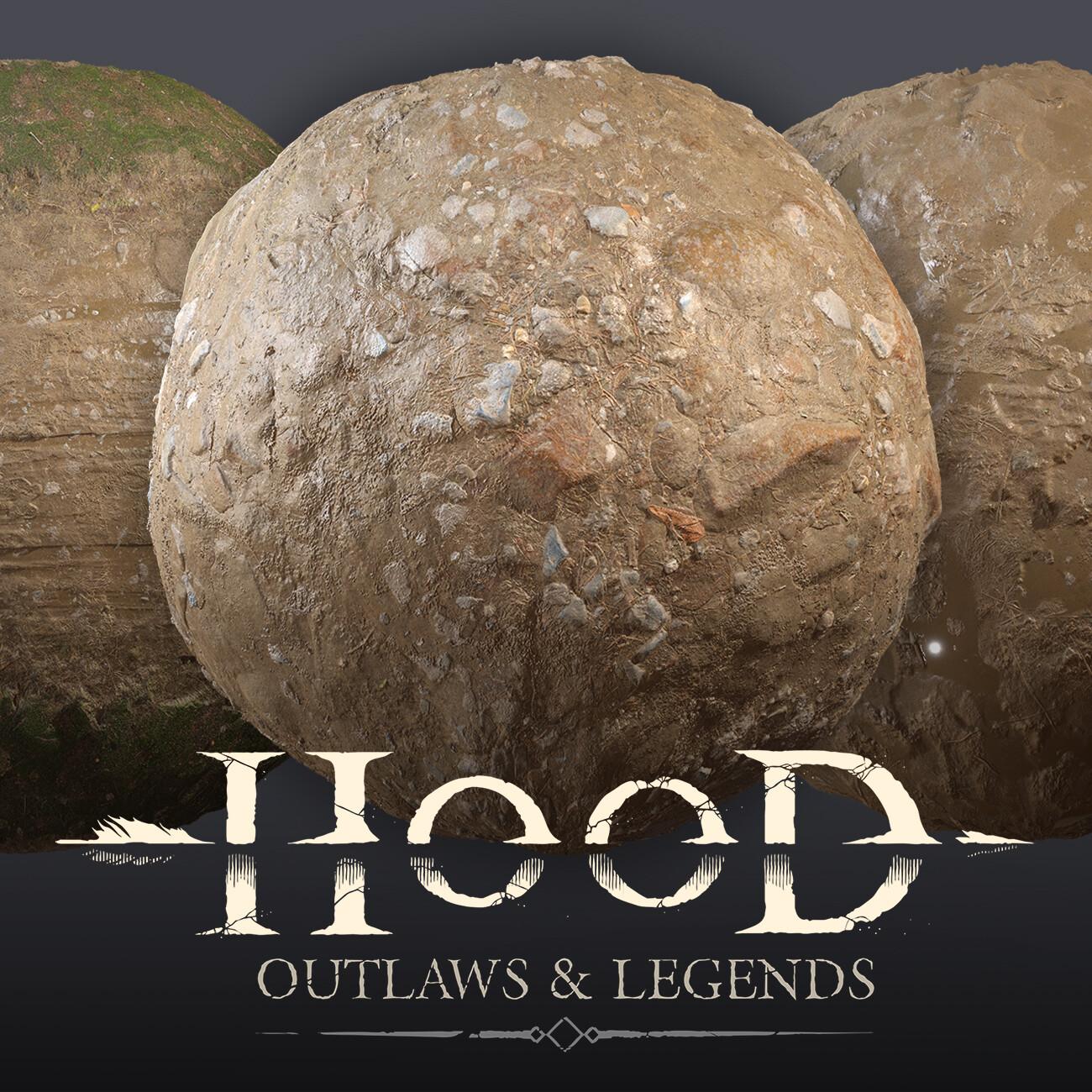 Hood: Outlaws & Legends - Sand Materials
