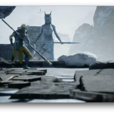 Unreal Engine 4- Camera Movements
