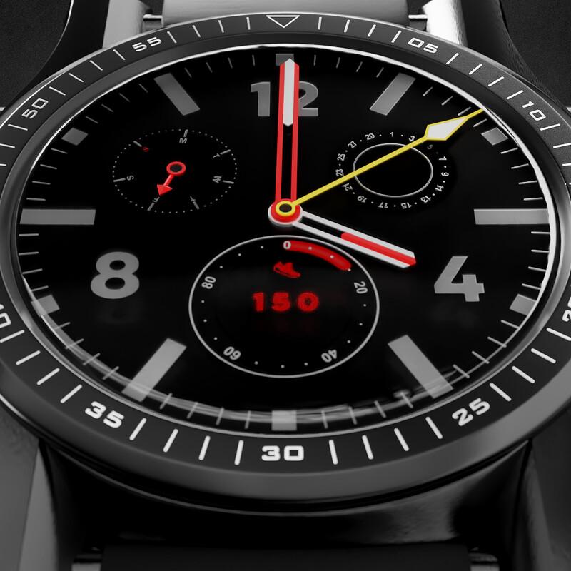 Black Watch Animation