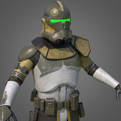 Clone Commander (Character Texturing)