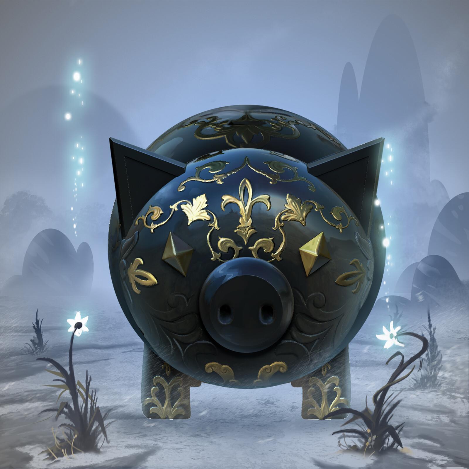 Hexx -Piggy Bank Project