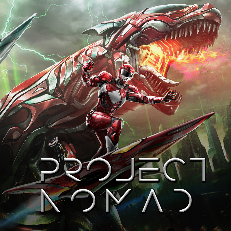 Project Nomad - Unreleased Power Rangers game