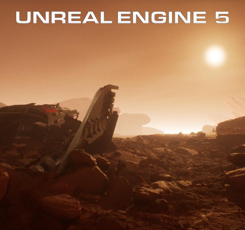 Unknown planet UE5