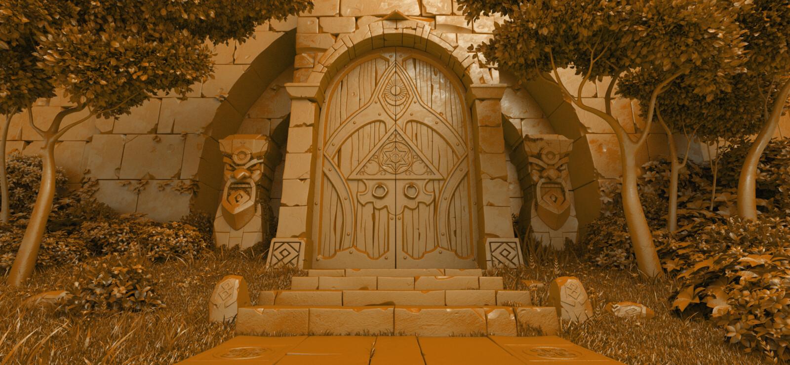 Seven Guardians Gate, modeling