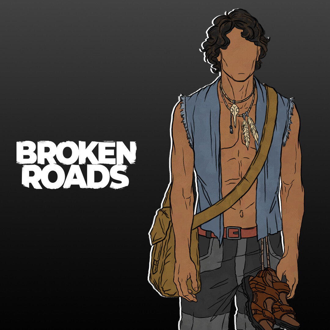 Djarraly outfit iterations - Broken Roads