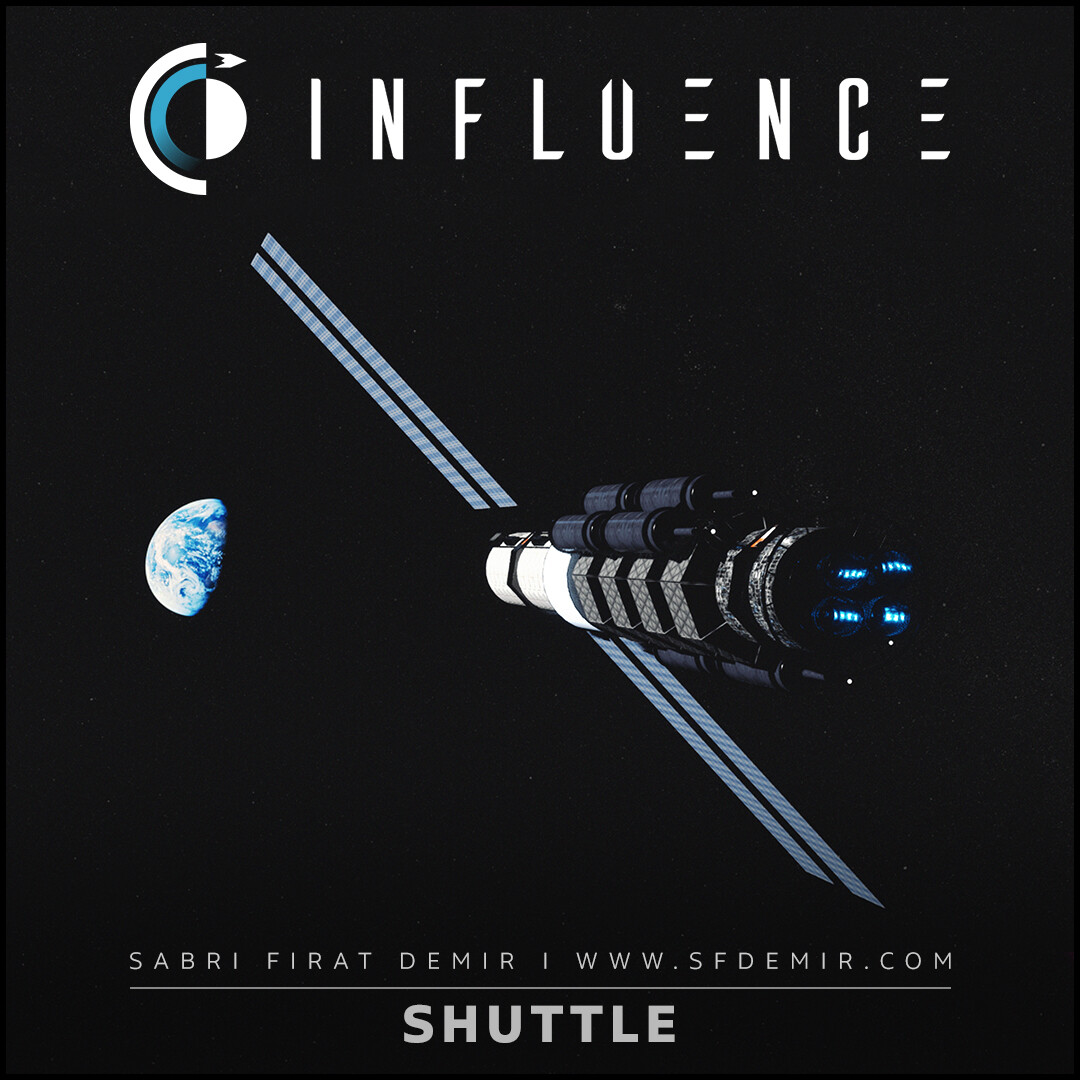 Influence - Shuttle Spaceship