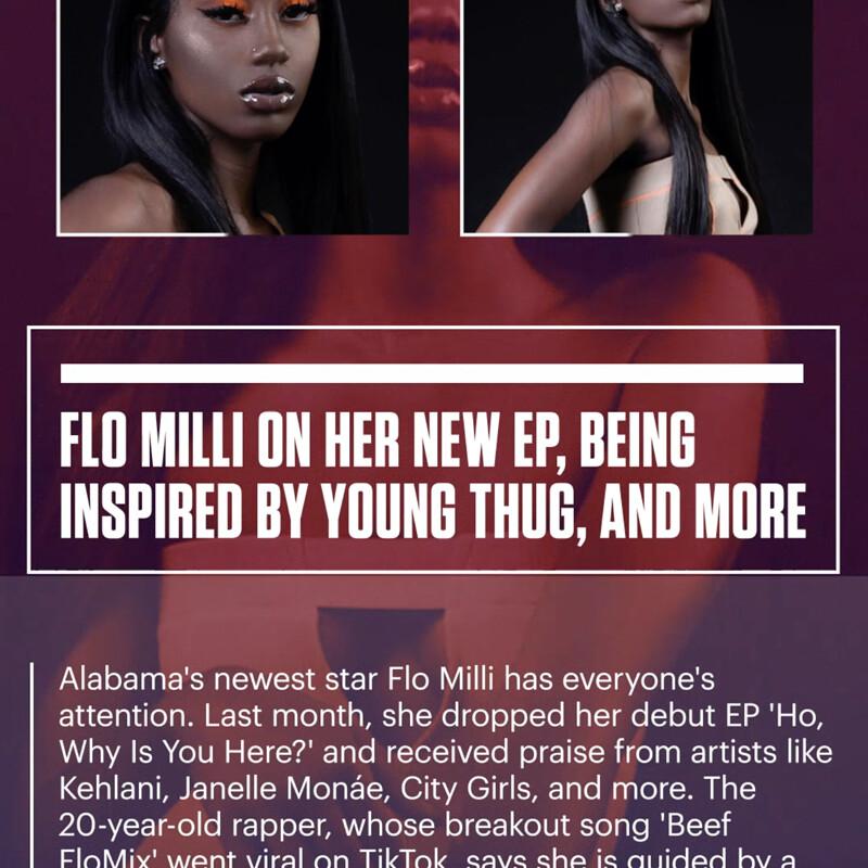COMPLEX | Snapchat Flo Milli Series