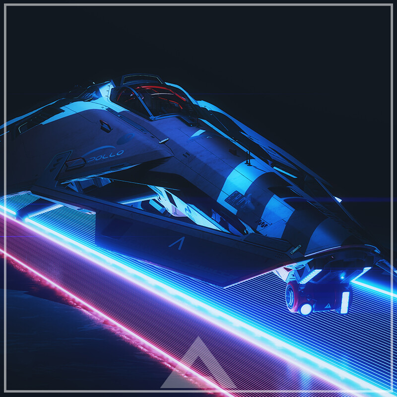 Hephaestus Racer - Lightbar Shots