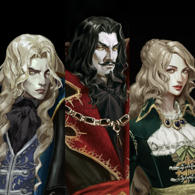 Symphony of the Night character redesigns