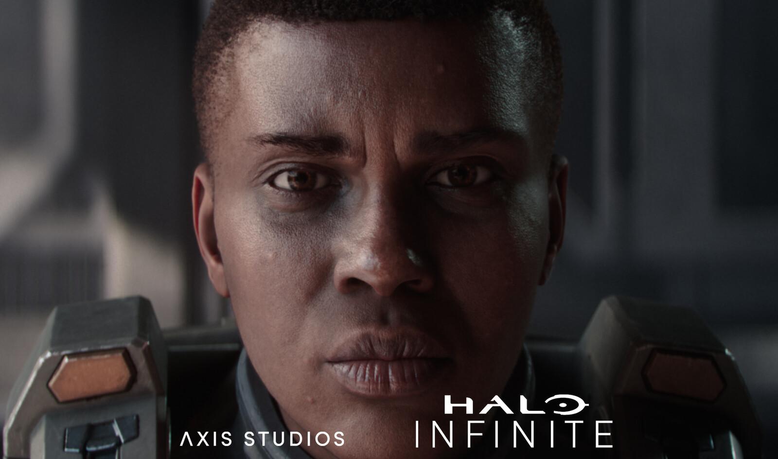 Halo Infinite Trailer: Commander Laurette