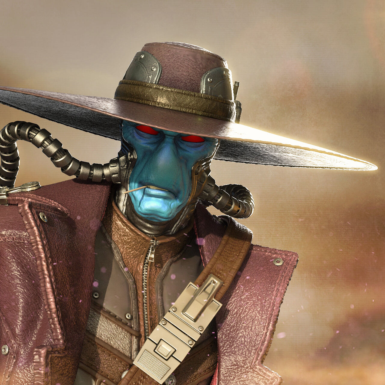 Clone Wars Cad Bane 1:4 collectible statue