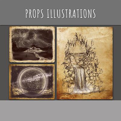 Props Illustrations