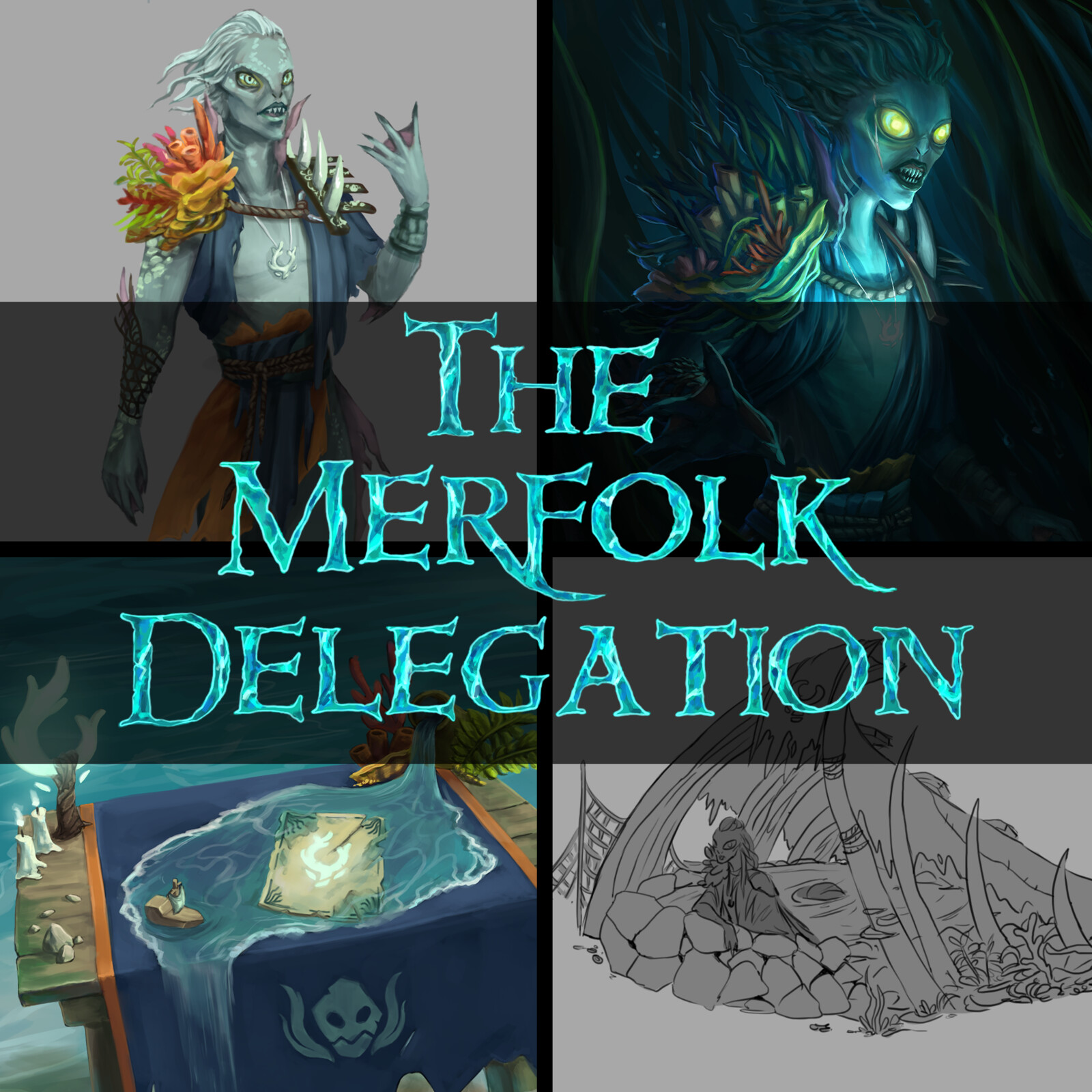 The Merfolk Delegation - Sea of Thieves Fan Concept
