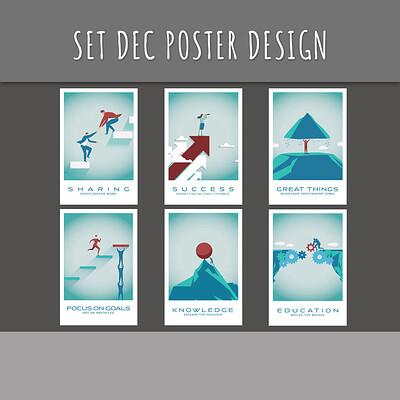 Set Dec Poster Design