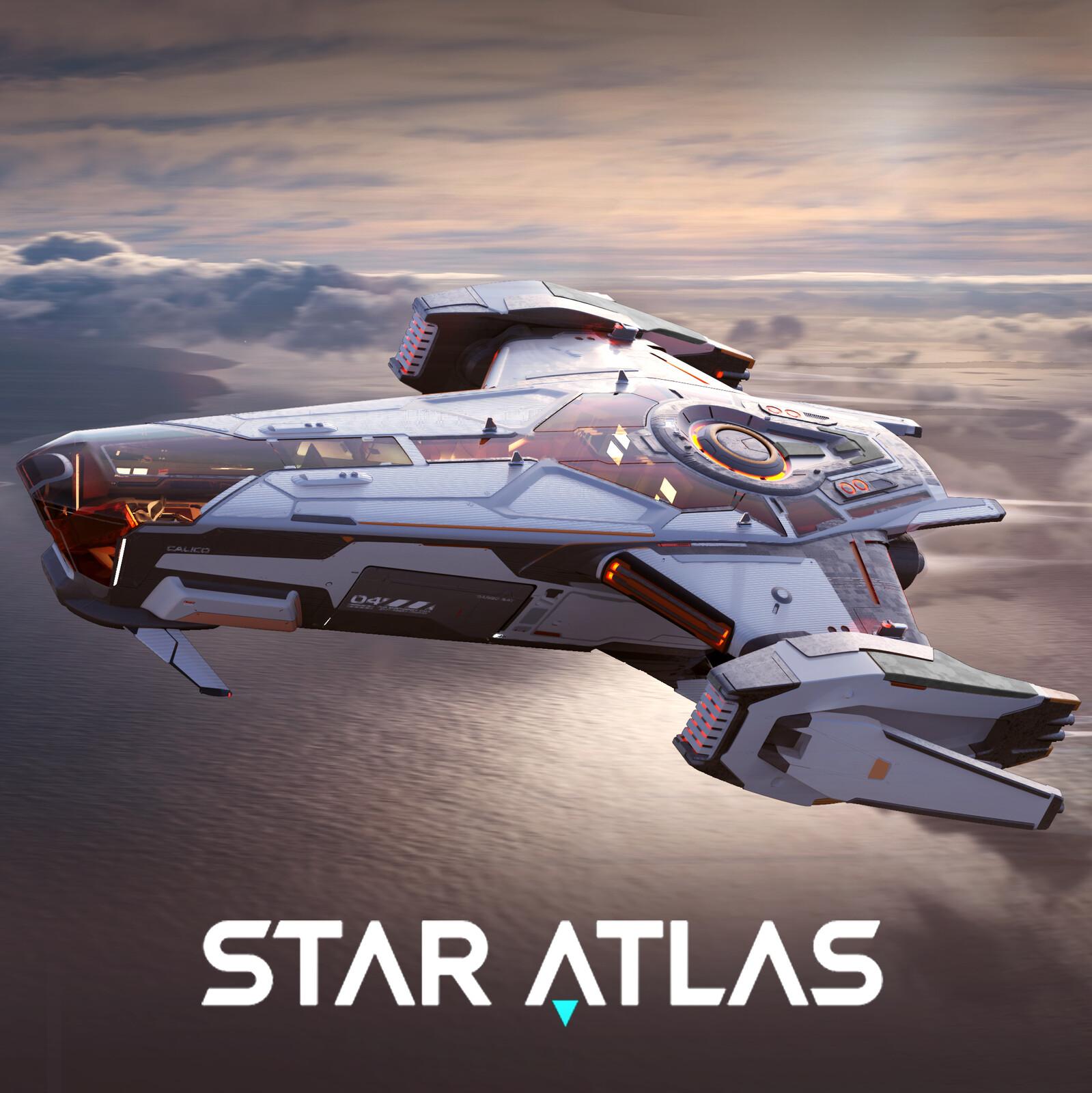Calico Compact Hero - STAR ATLAS