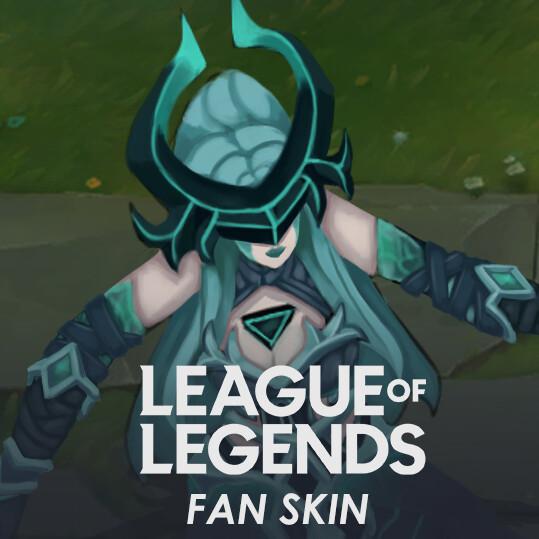 Ruination Syndra Fan Skin