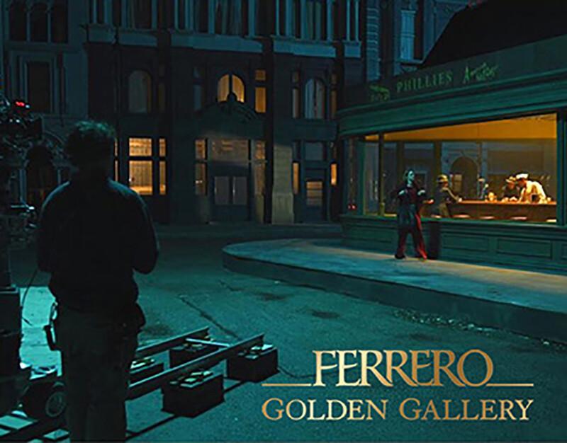Spot Ferrero Rocher USA, Pre-production