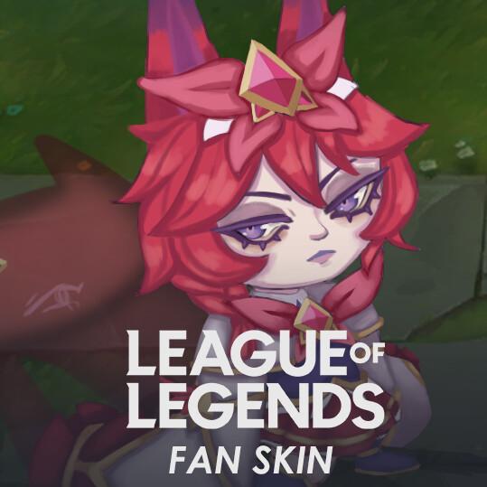 Star Guardian Vex League of Legends Fan Skin
