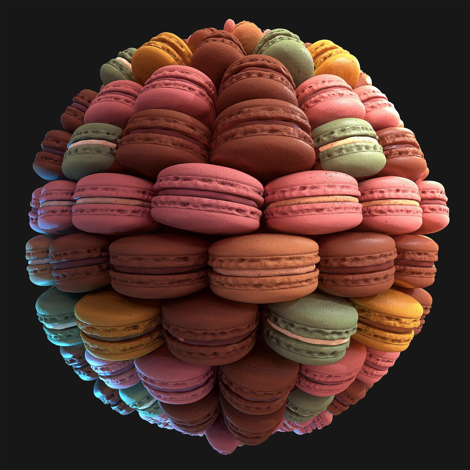 Macaron Material