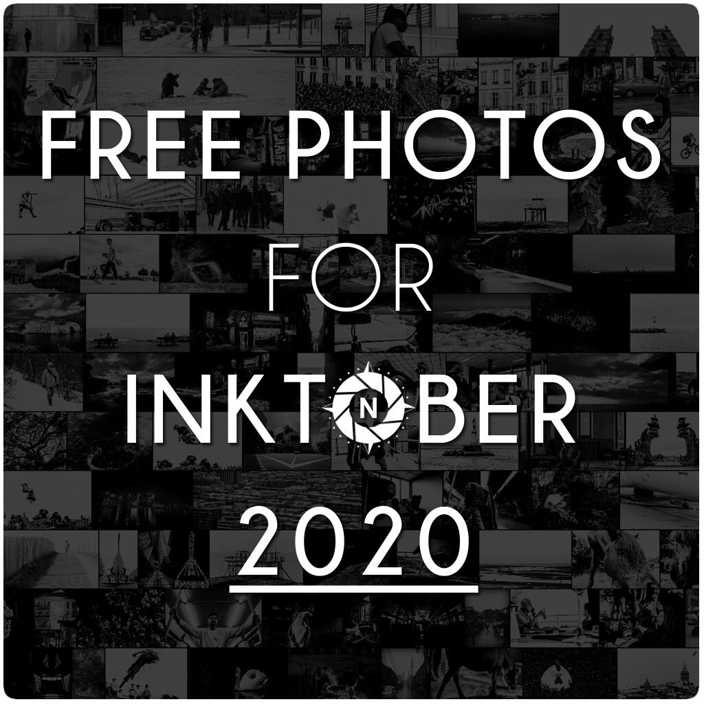 Free photos for Inktober 2020