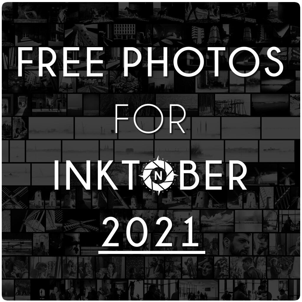 Free photos for Inktober 2021