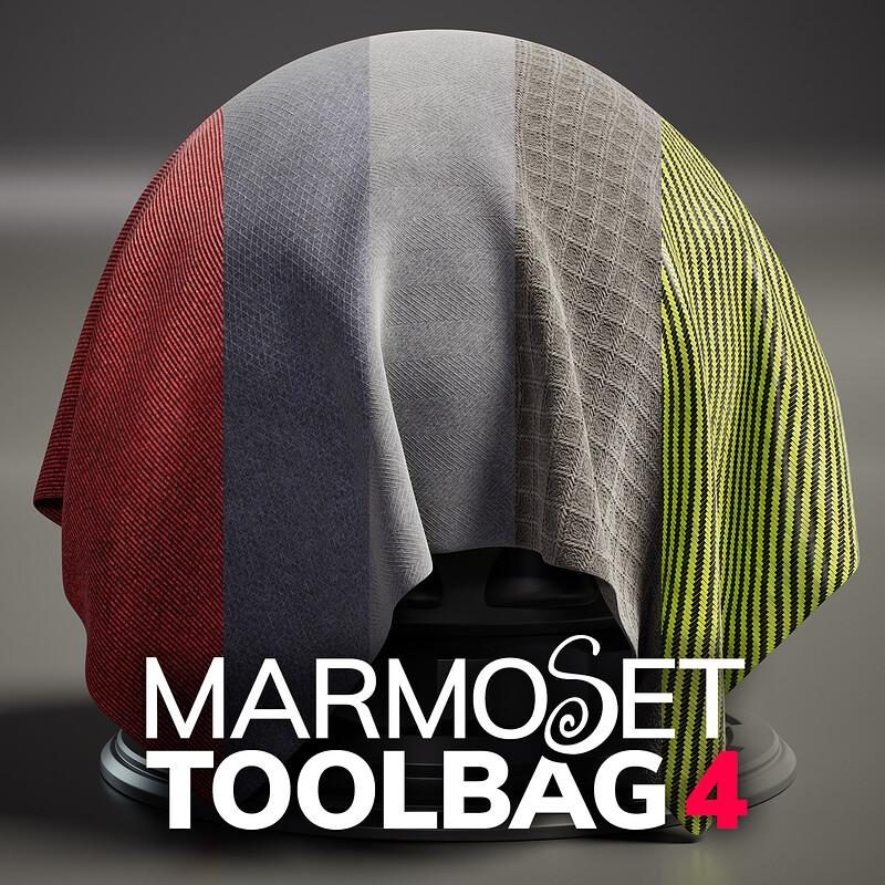 Toolbag 4 Materials - Library Drop 02, Part 2