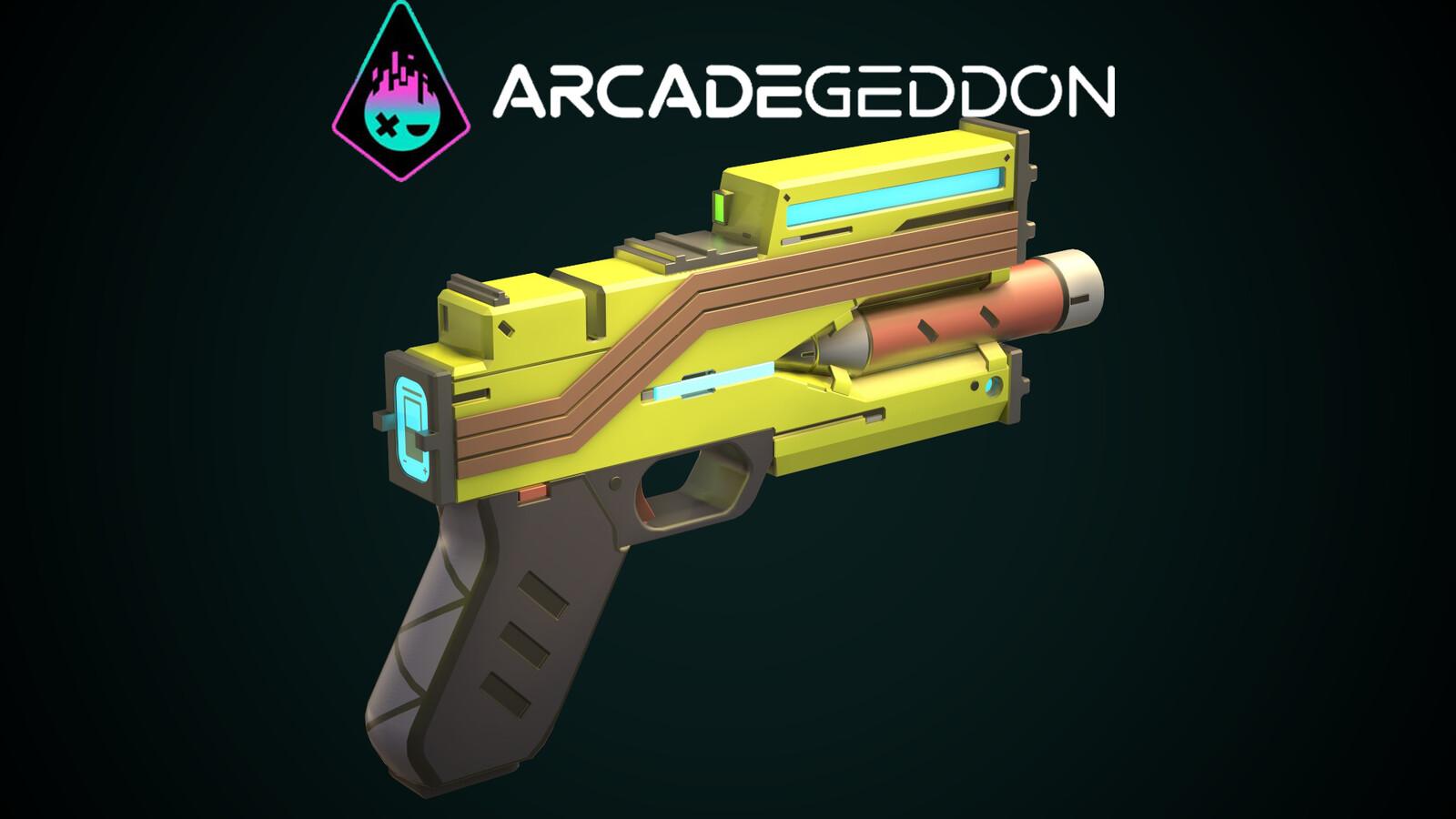 ARCADEGEDDON Handgun
