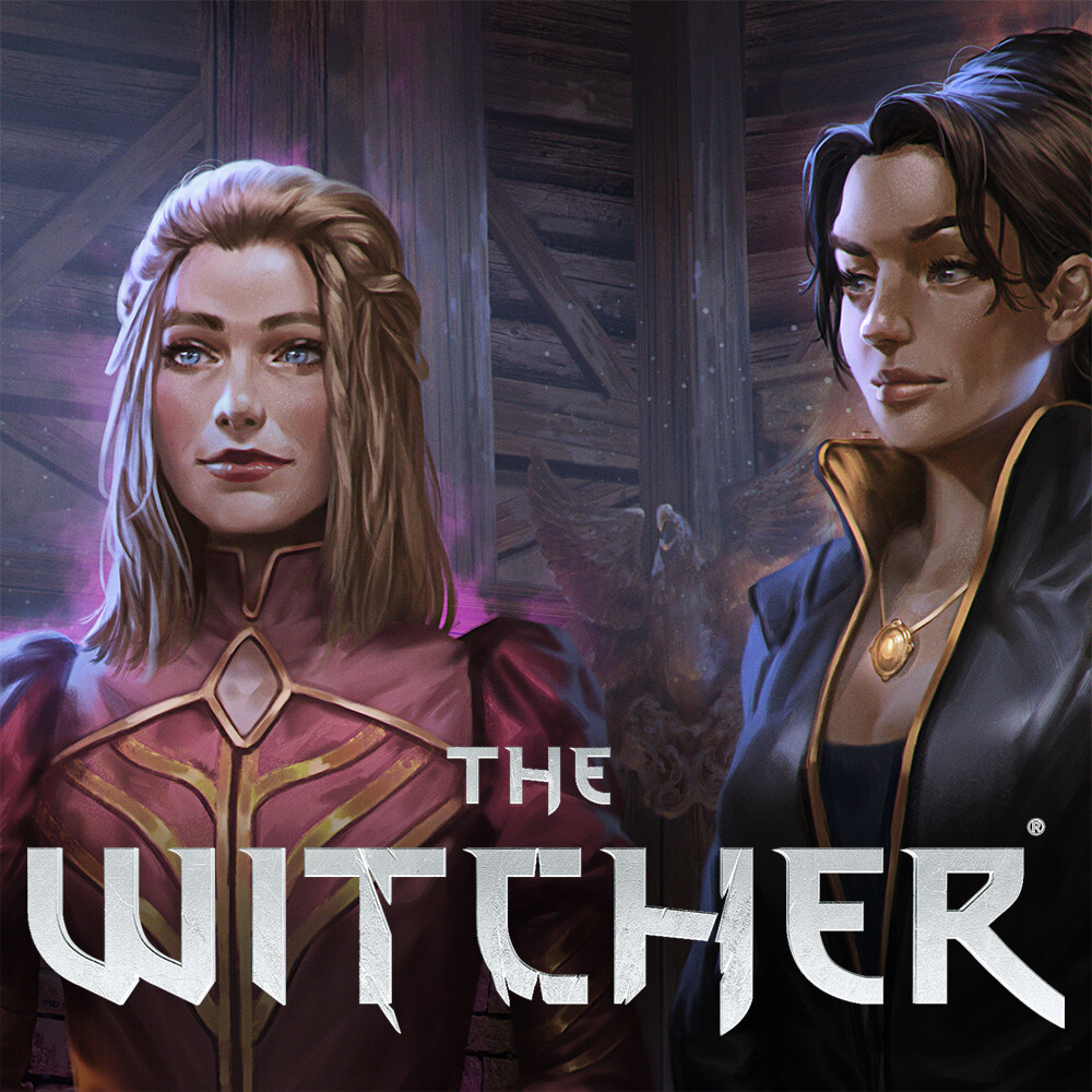 Witcher TTRPG A Book of Tales - Sorceresses