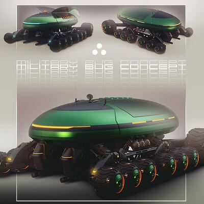 Encho enchev encho enchev military bug concept 4