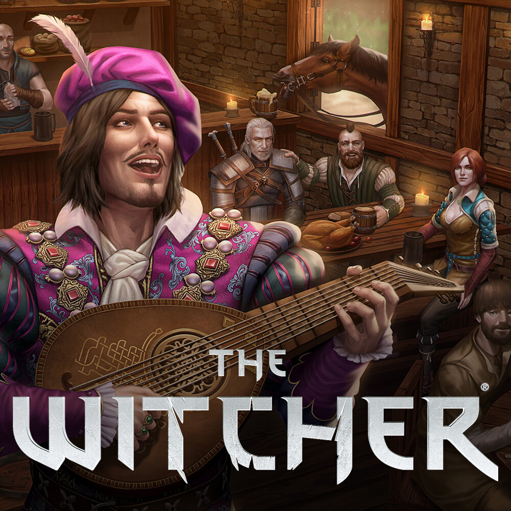 Witcher TTRPG A Book of Tales - Cover Art