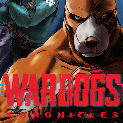 Wardogs Chronicles Covers