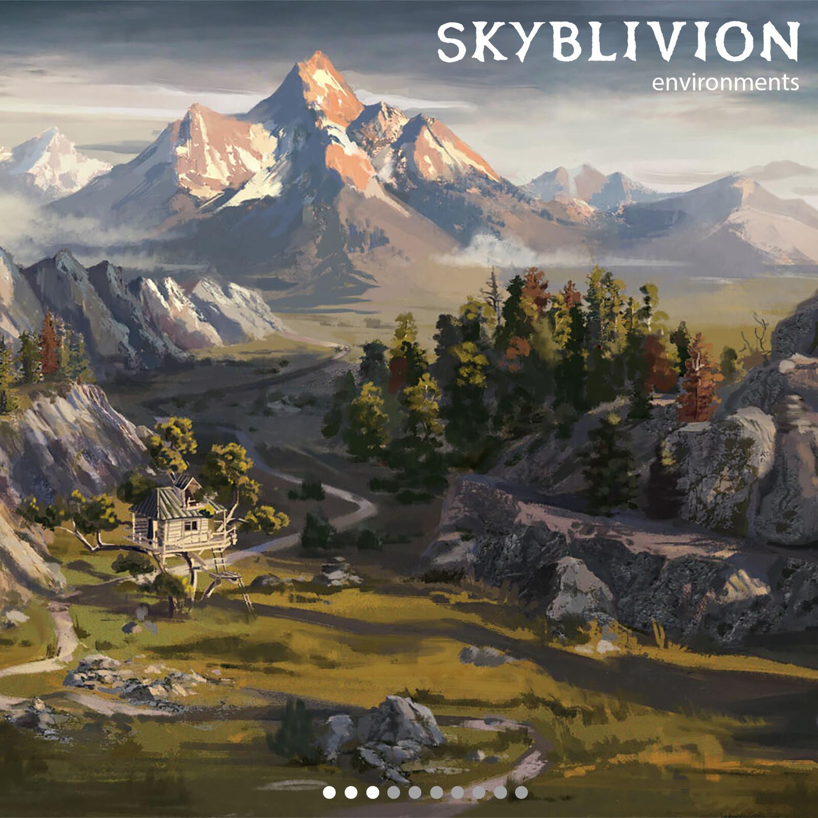 Skyblivion: Environments