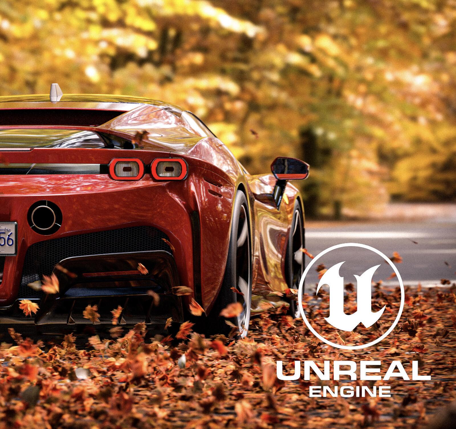 Ferrari SF90 Stradale - Unreal Engine 4 Automotive Rendering