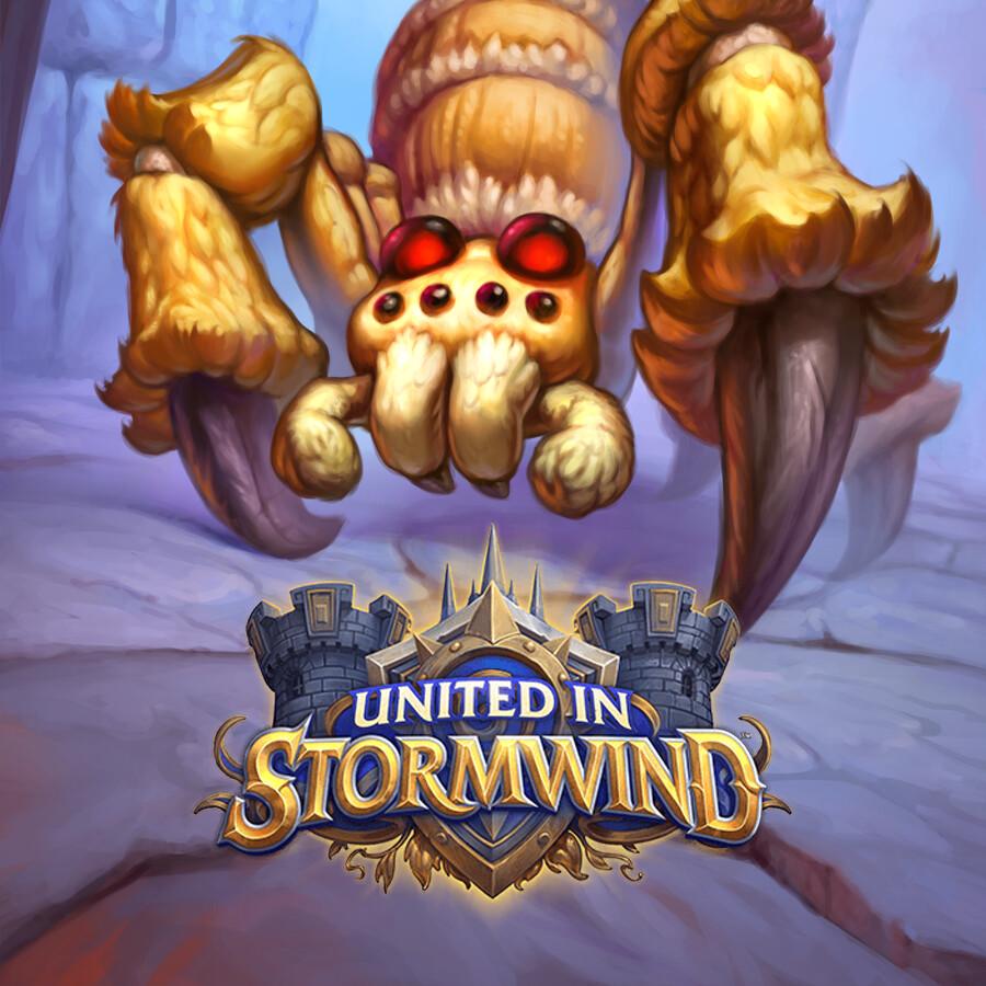 Hearthstone: United in Stormwind - Invasive Spiderling