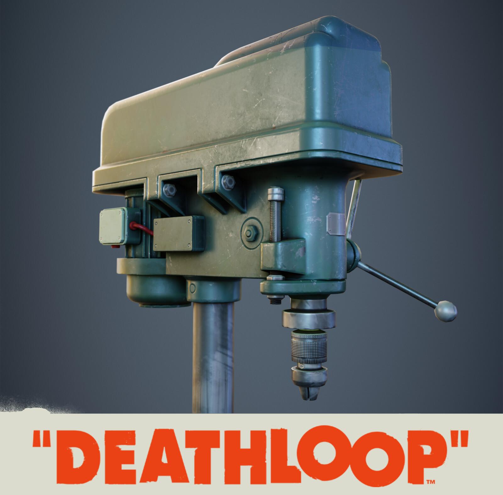 Drill: Deathloop Prop