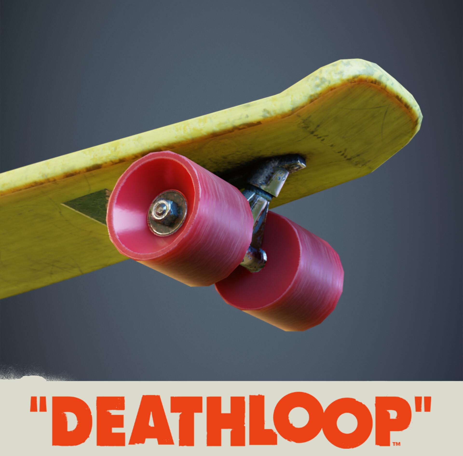 Skateboard: Deathloop Prop
