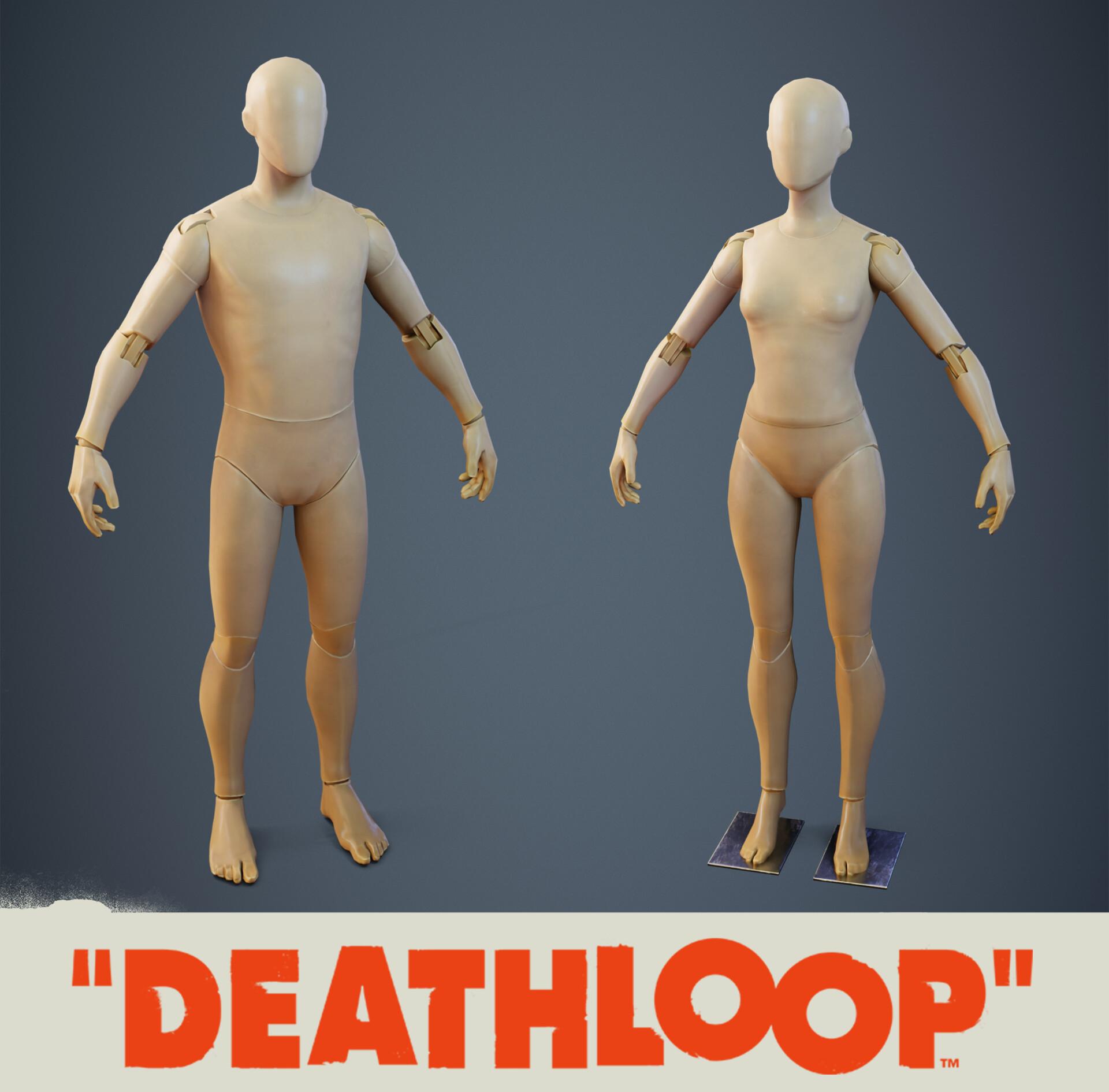 Modular Mannequin: Deathloop Prop