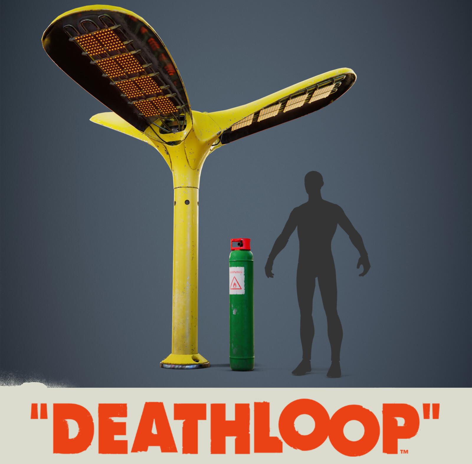 Street Heater: Deathloop Prop