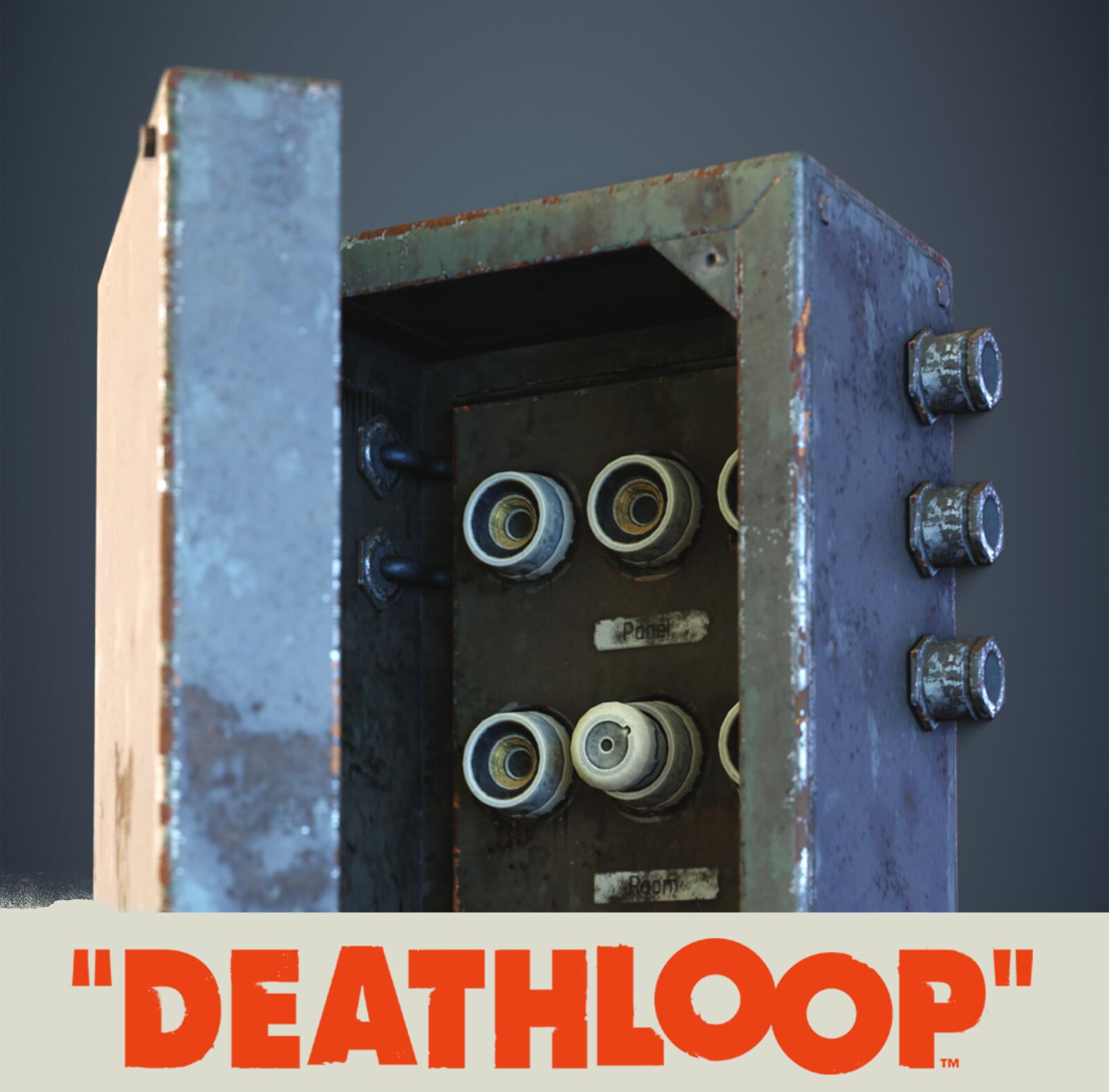 Electrical Box Set: Deathloop Prop