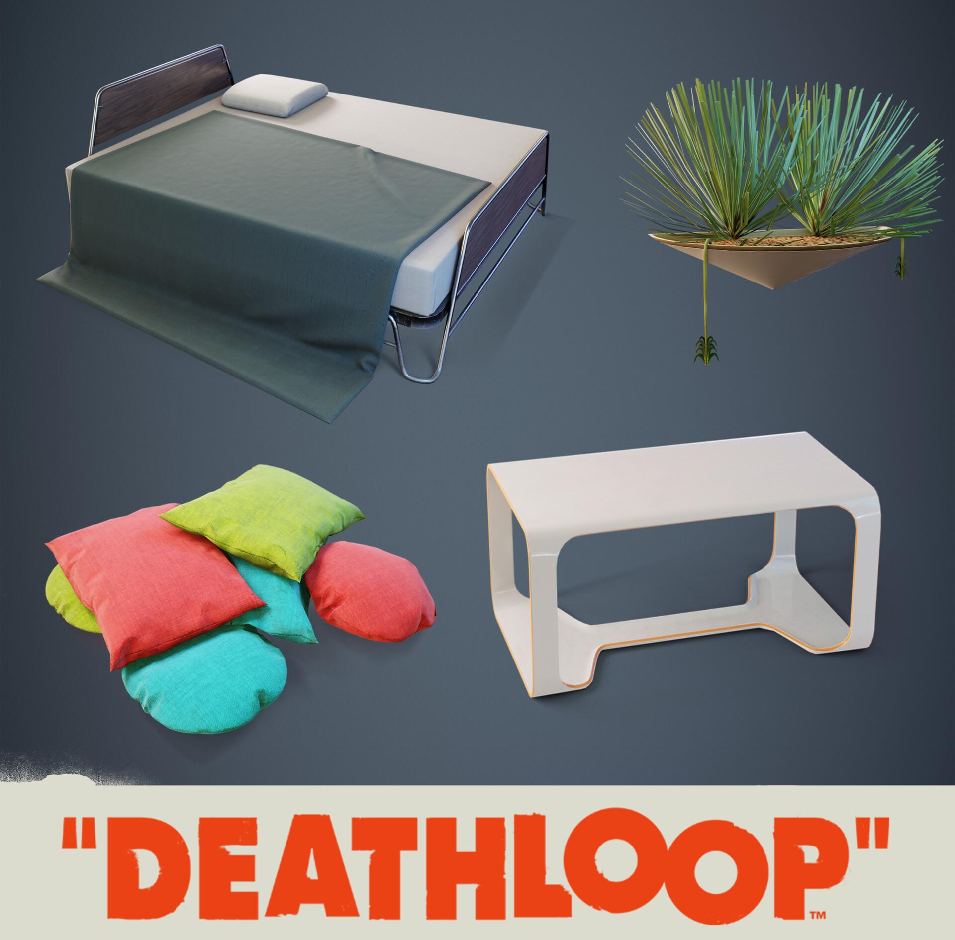 Furniture: Deathloop Props