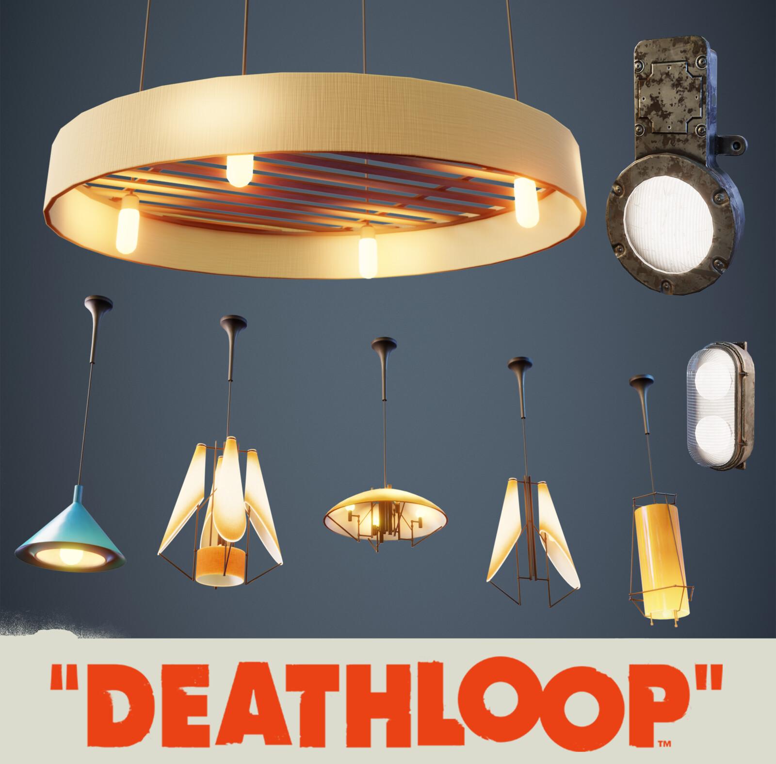 Lights: Deathloop Props
