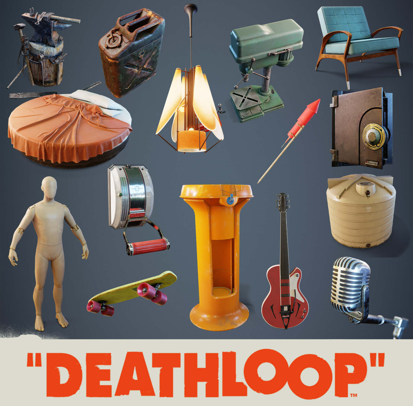Deathloop Props