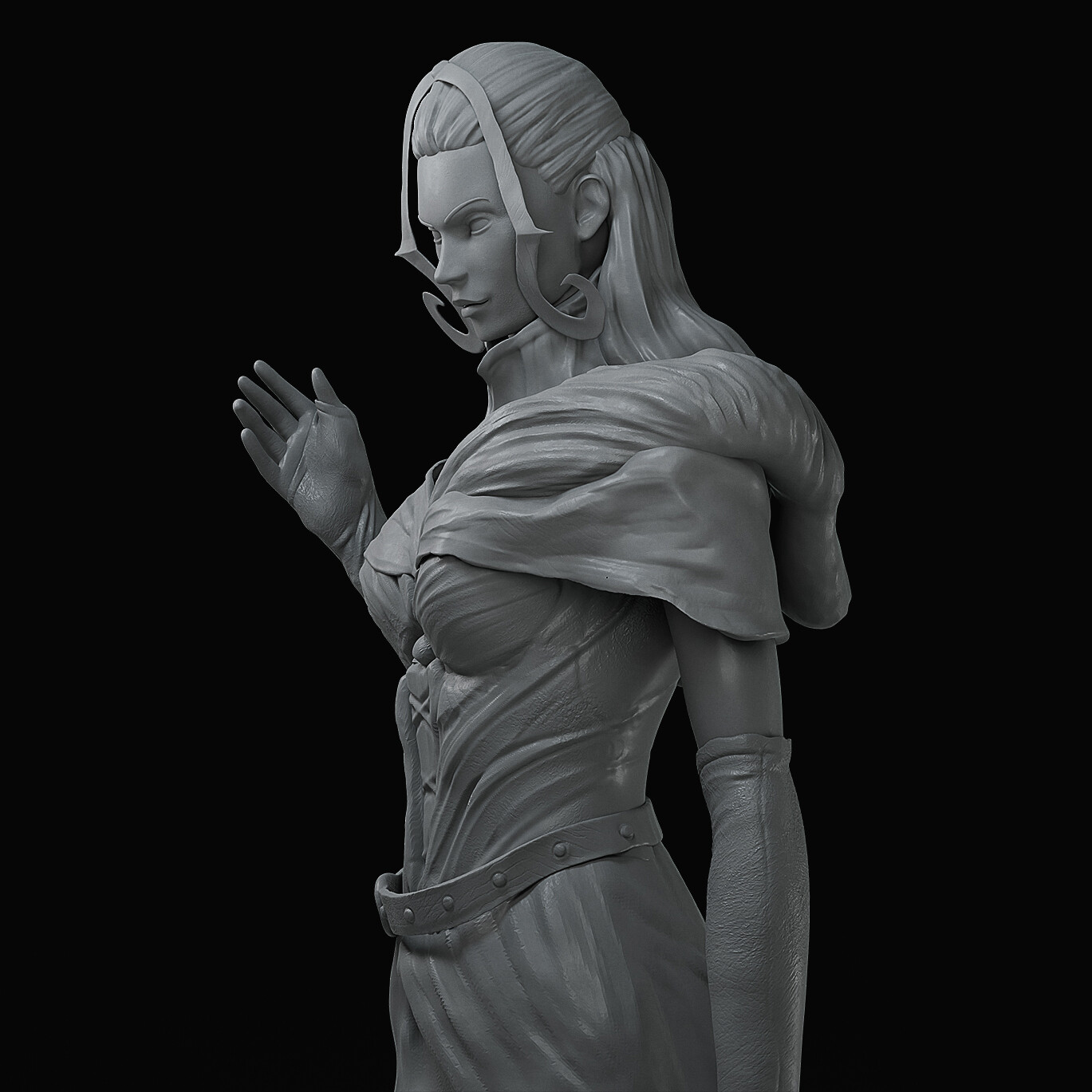 Day 1-4 Sculpting Study