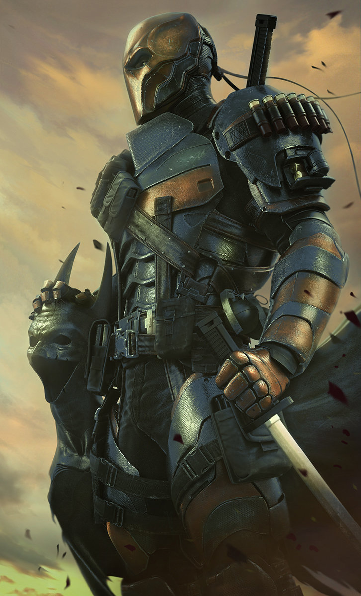Deathstroke Arkham Origins Concept Art