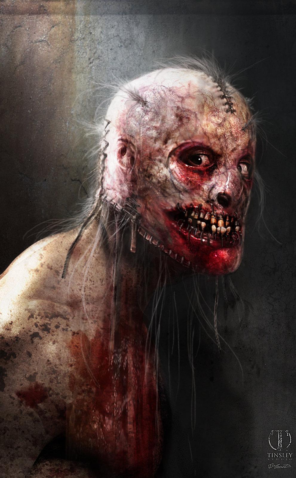 American Horror Story Asylum Bloodyface Design