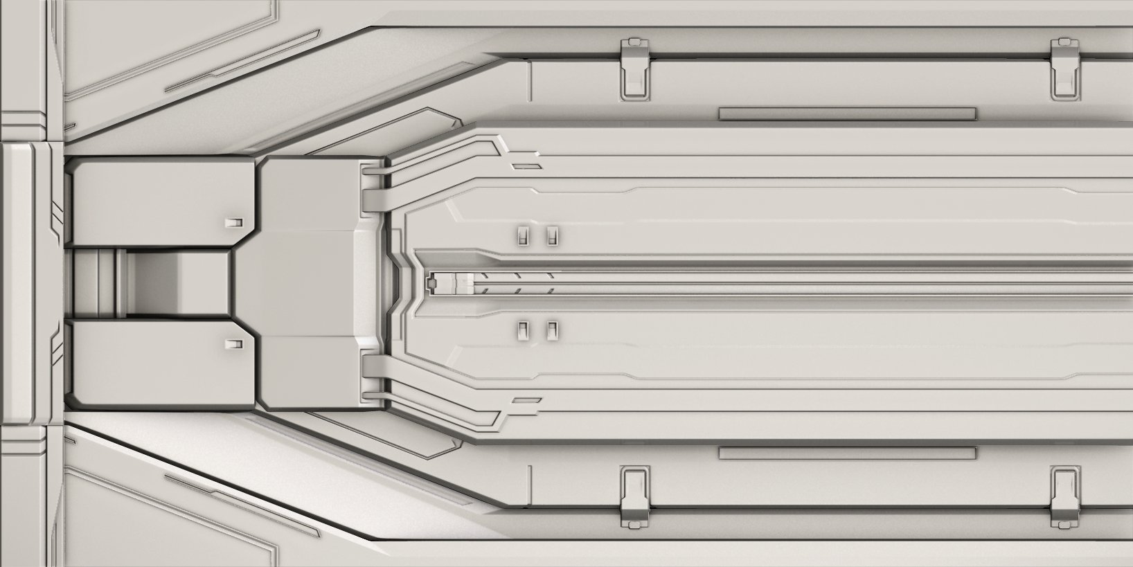 Render of a Forerunner panel